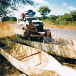 Mokoro trader near Angolan border